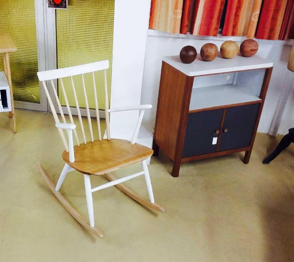 Emmaus Var - La Fabrique - Rocking Chair Vintage