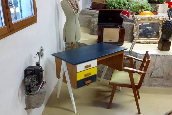 EMMAUS La Fabrique - bureau 3 tiroirs