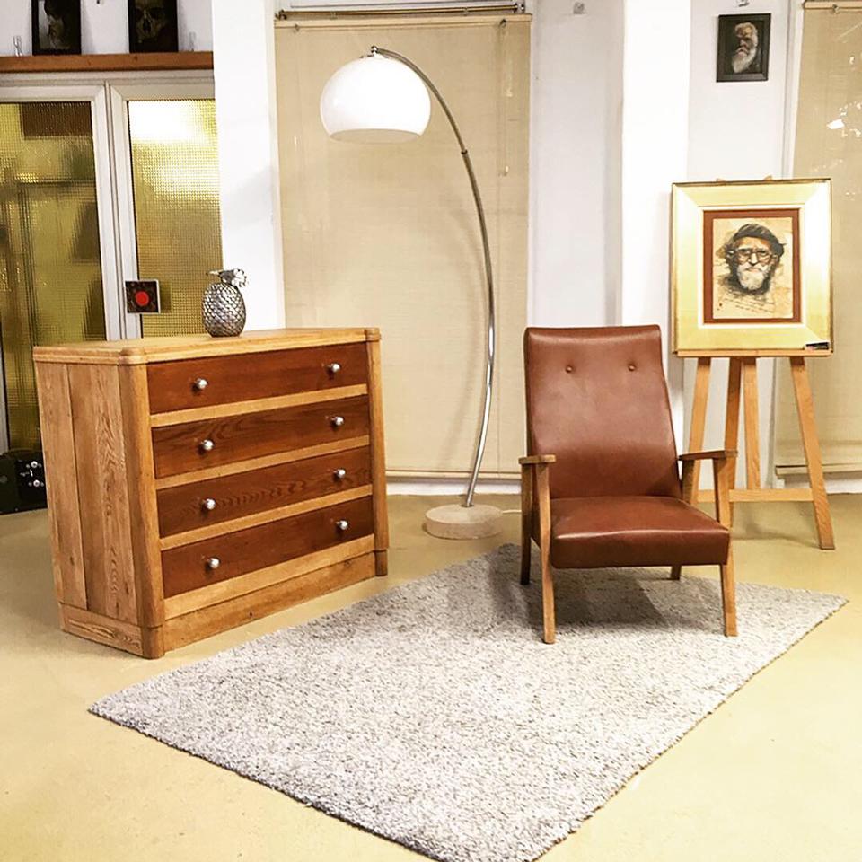 Emmaus Var - La Fabrique - commode 4 tiroirs