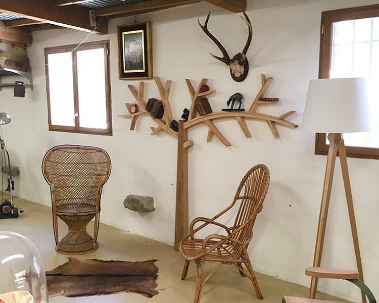 Emmaus Var - La Fabrique - création d'un arbre etagere